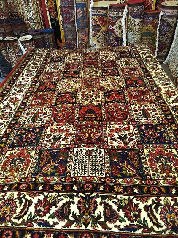 فرش دستبافت ، فرش بختیاری ،قالی، فرش دهکردی